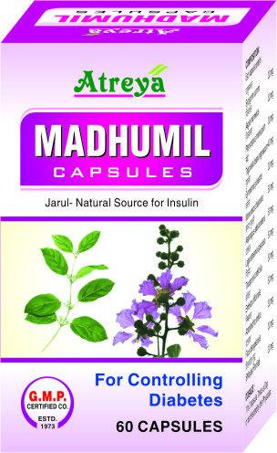 Madhumil Capsules- 60 Cap