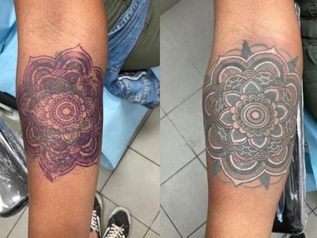 #1182 Cover Tattoo | AMERICAN BODY ART