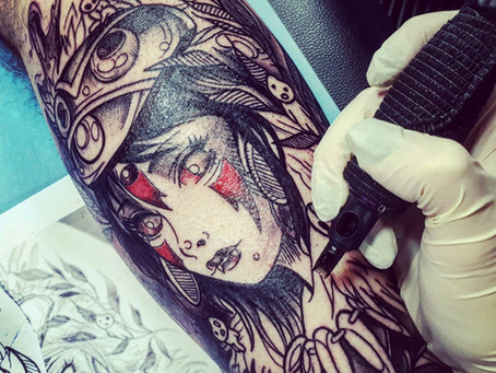 #1190 Tatouage   AMERICAN BODY ART