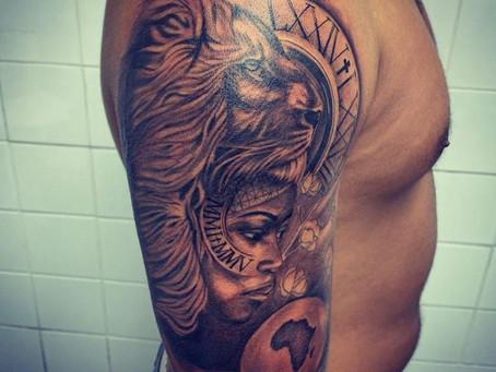 #1250 2 tattoo en 1 | AMERICAN BODY ART