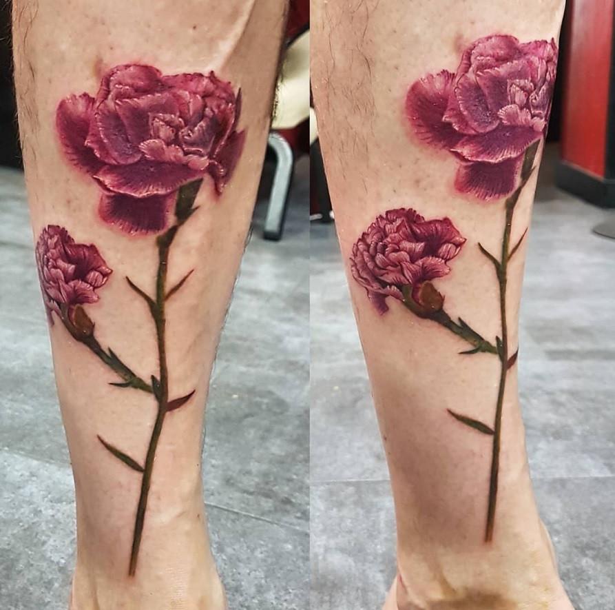 tatouage fleur magic circus paris