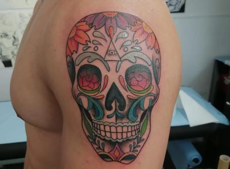 #1133 Tatouage Halloween | American Body Art