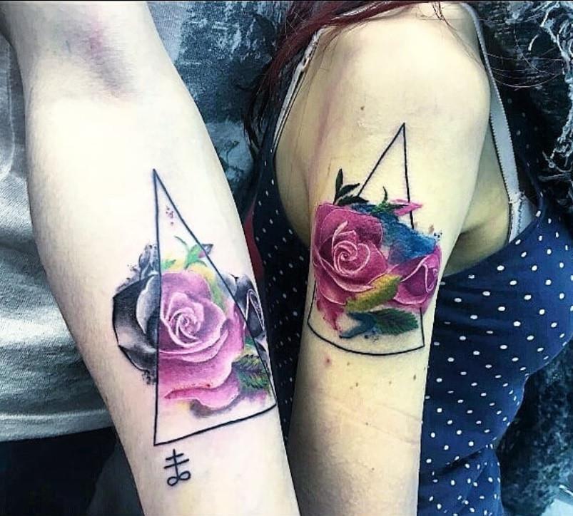 tatouage couple magic circus paris