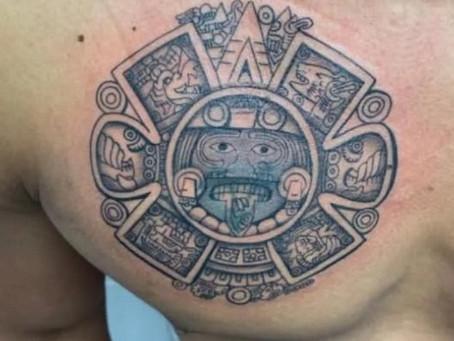 #942 TATOUAGE AZTEQUE | AMERICAN BODY ART