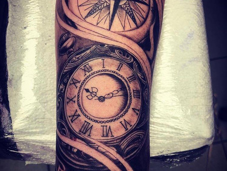 #1068 TATTOO HORLOGE | AMERICAN BODY ART