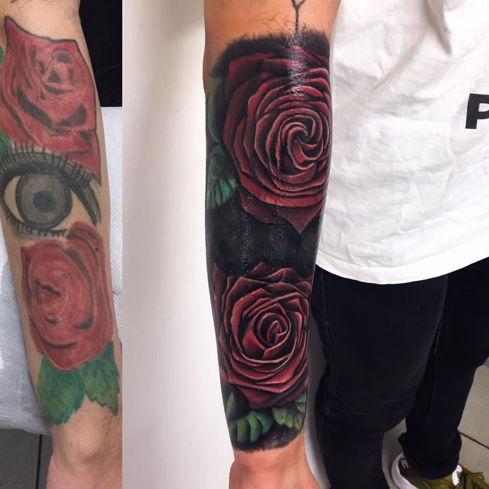 Tatouage cover up