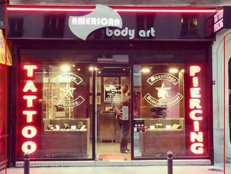 #866 Suivez-nous! - American Body Art