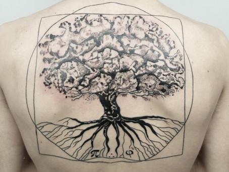 #1264 Tattoo nature | AMERICAN BODY ART
