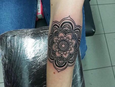 #1156 Tattoo Mandala | AMERICAN BODY ART