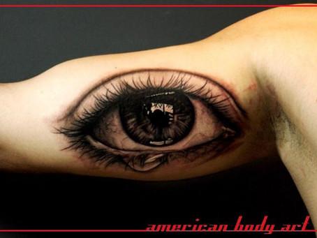 #789 TATOUAGE AMERICAN BODY ART PARIS