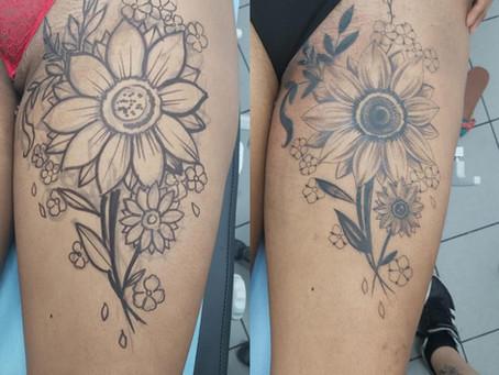 #1181 Free Hand Tattoo | AMERICAN BODY ART