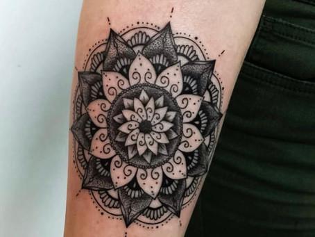 #1118 tatouage Mandala | AMERICAN BODY ART