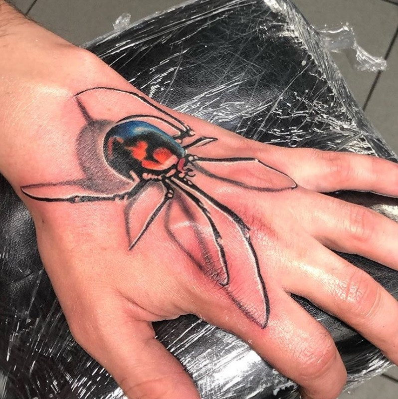 tatouage araignée american body art