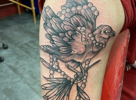 #77 TATOUAGE OISEAU | MAGIC CIRCUS