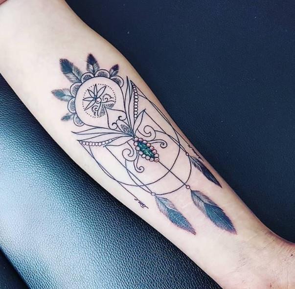 tattoo mandala magic circus