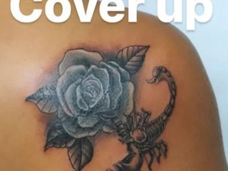 #898 Tattoo cover up | American Body Art