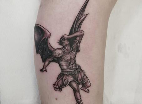 #1102 Tattoo semi realiste | AMERICAN BODY ART