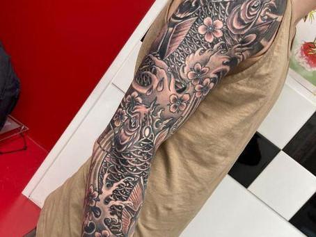 #1969  tatouages style japonais   AMERICAN BODY ART