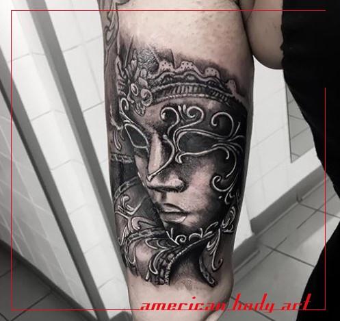 tatouage bras american body art