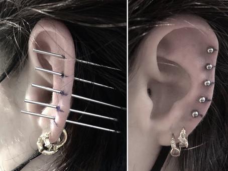 #1199 Piercing Lobe Helix | AMERICAN BODY ART