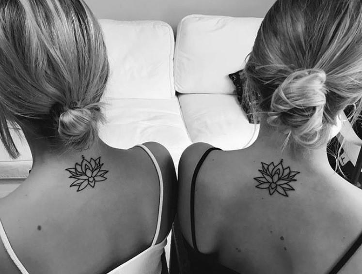 tatouage couple american body art