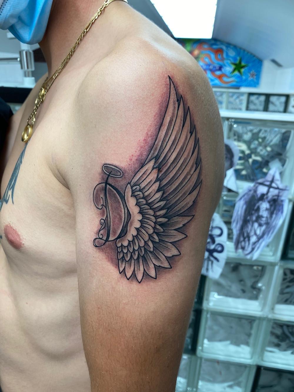 tatouage ailes