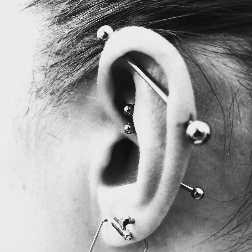 piercing industriel - daith