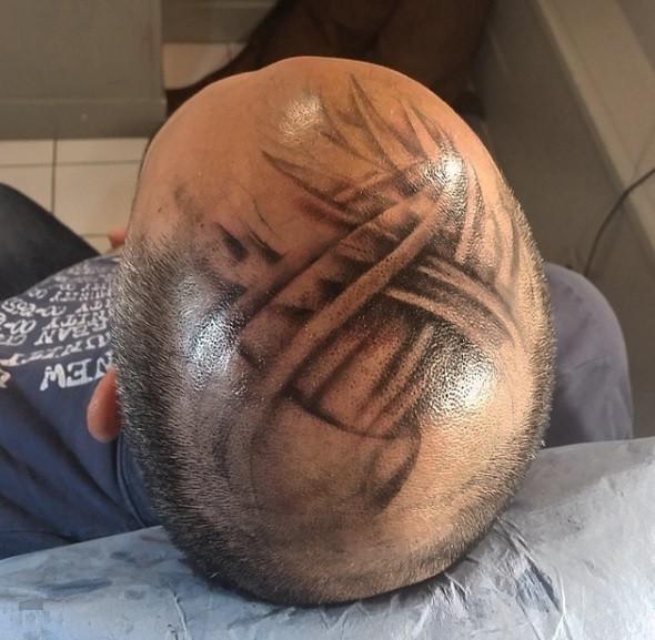 tatouage tète american body art