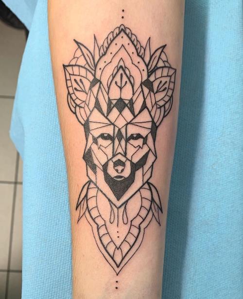 tatouage géométrique American Body Art