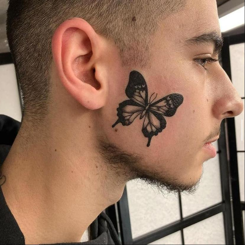 tatouage visage magic circus
