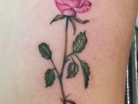 #862 Le tatouage de rose - American Body Art