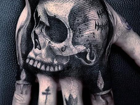 #1252 Tatouage sur les doigts - mains | AMERICAN BODY ART