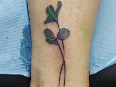 #844 Un tatouage chez - American Body Art -