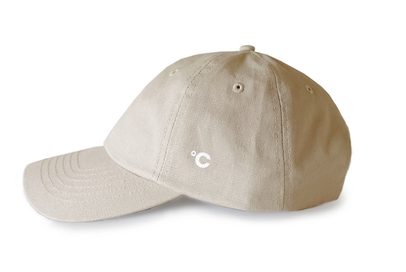 CHAMI Cotton Twill Hat, Khaki