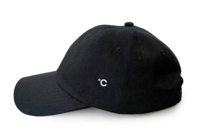 CHAMI Cotton Twill Hat, Black