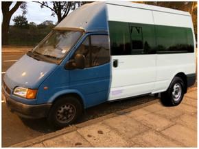 Mini bus fund tops £7,000