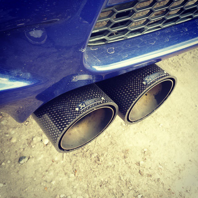 Instagram - #BMW #M3 #E92 #AKRAPOVIC #EXHAUST