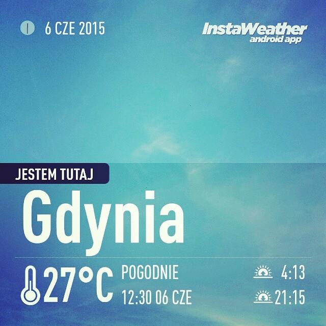 Instagram - #gdynia #versus #instaweather #instaweatherpro #weather #wx #android