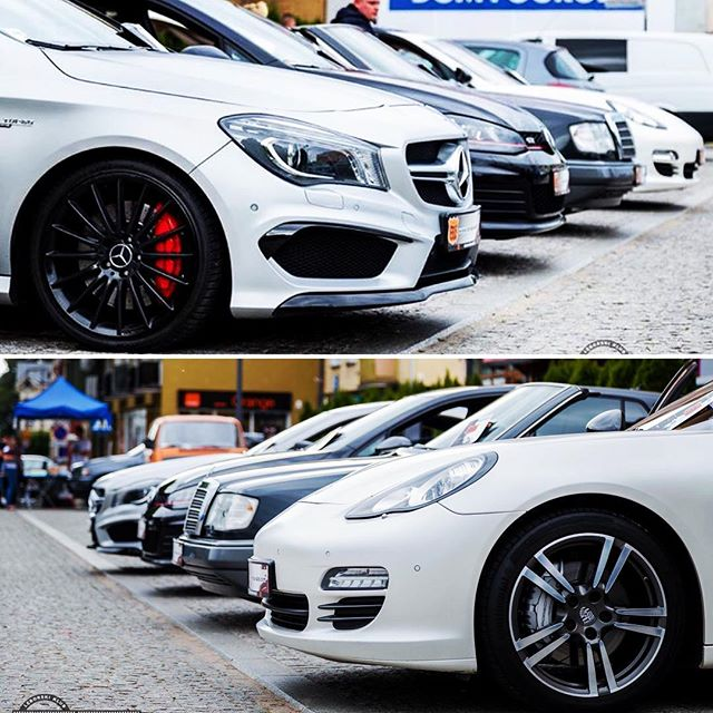 _vag_static_team #zlot #staticstance #porsche #panamera #mercedes #w124 #cabrio #golf #gti #mercedes