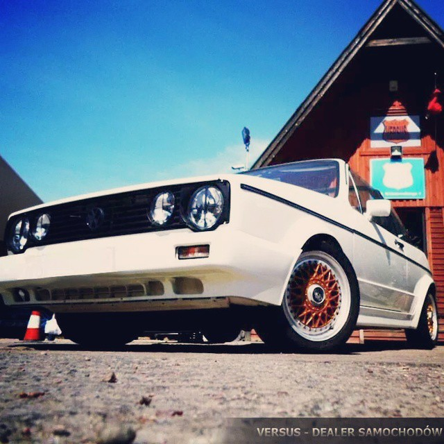 Instagram - #HOLIDAY #MEMORY #VW #GOLF #MK1 #CABRIO #CABRIOLET #KARMAN #BBS