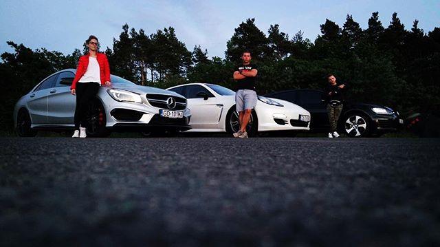 #versusmorska #vagstatic #vagstaticteam #lebork #mercedes #cla45amg #porsche #panamera4s #vw #golfgt
