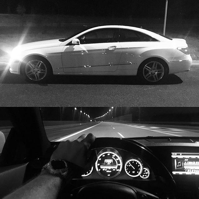 Warto było przebyć całą Polskę #mercedes #e350 #coupe #amg