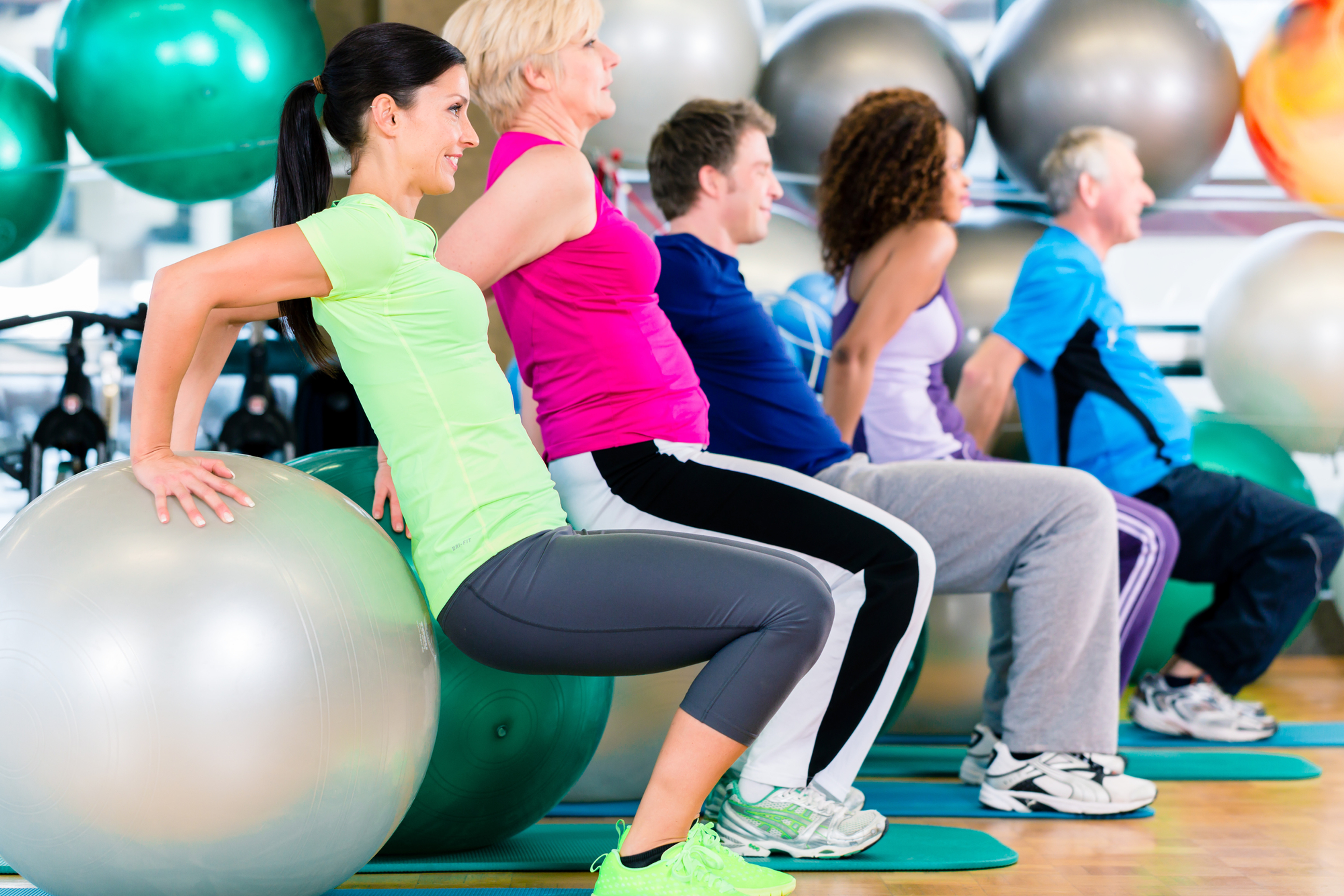 Circuits with Fitness Instructor