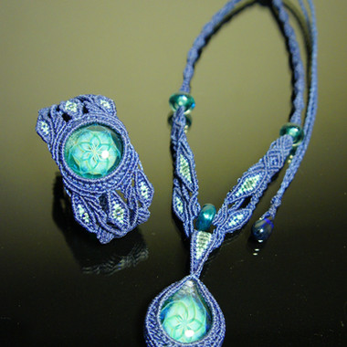 Amiya collab necklace & bangle
