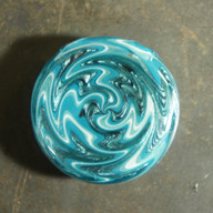Blue collab pendant
