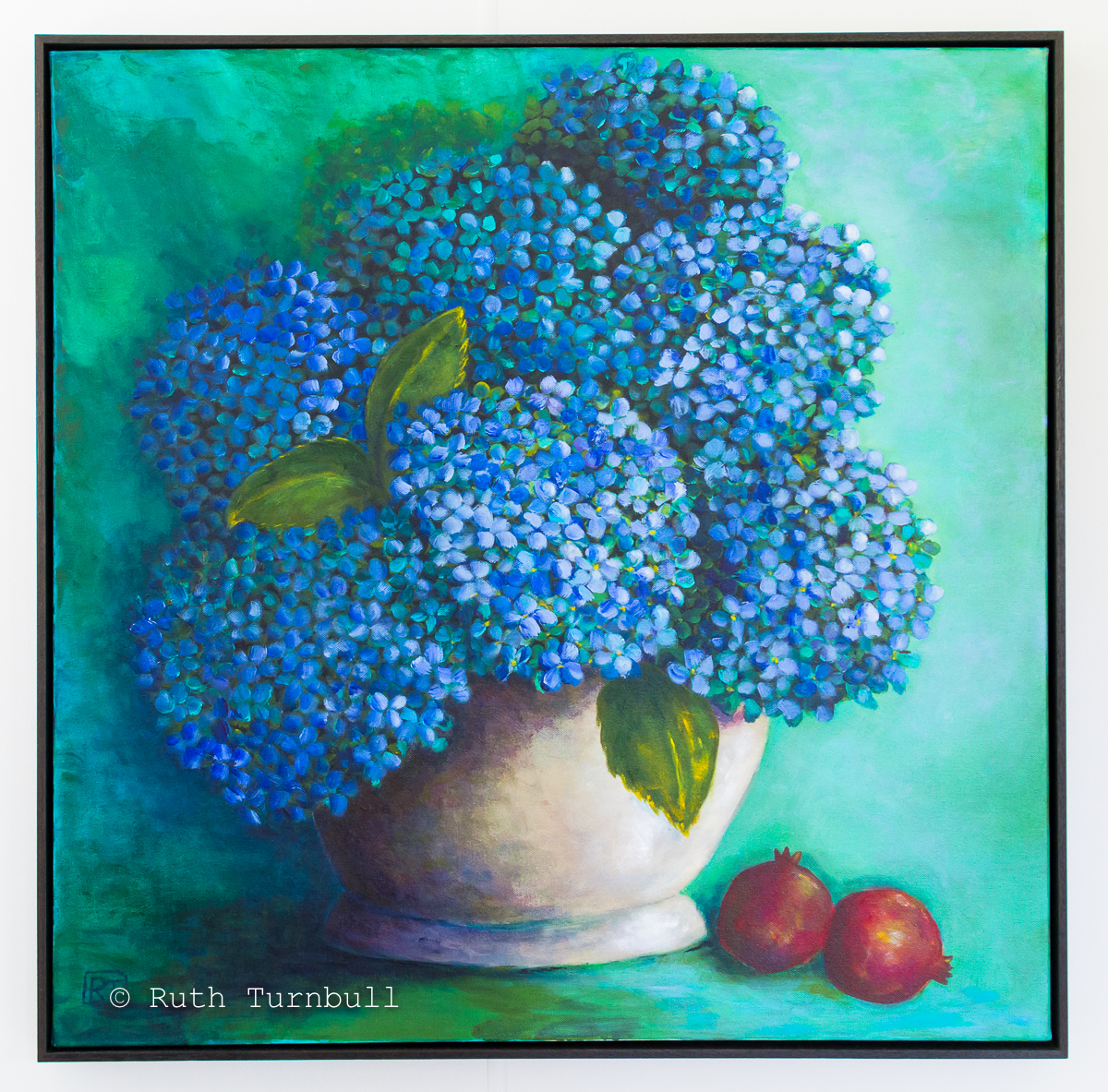 Hydrangeas by Ruth Turnbull