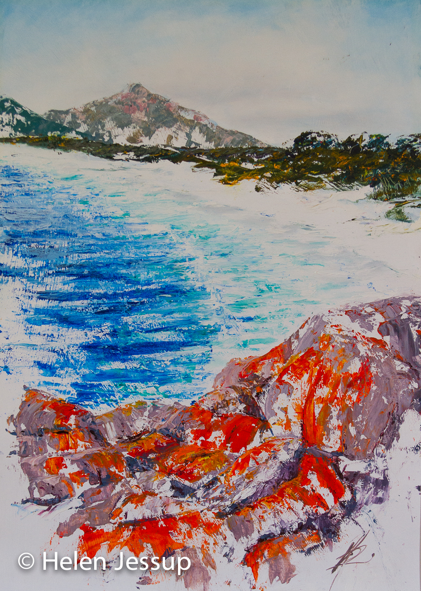 Wineglass Bay, Mt Graham, Tas