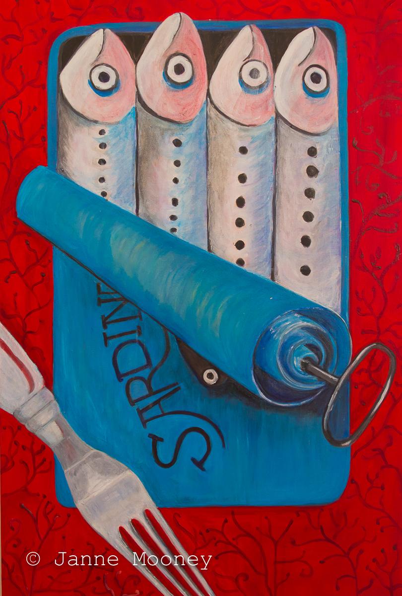 Sardines by Janne Mooney