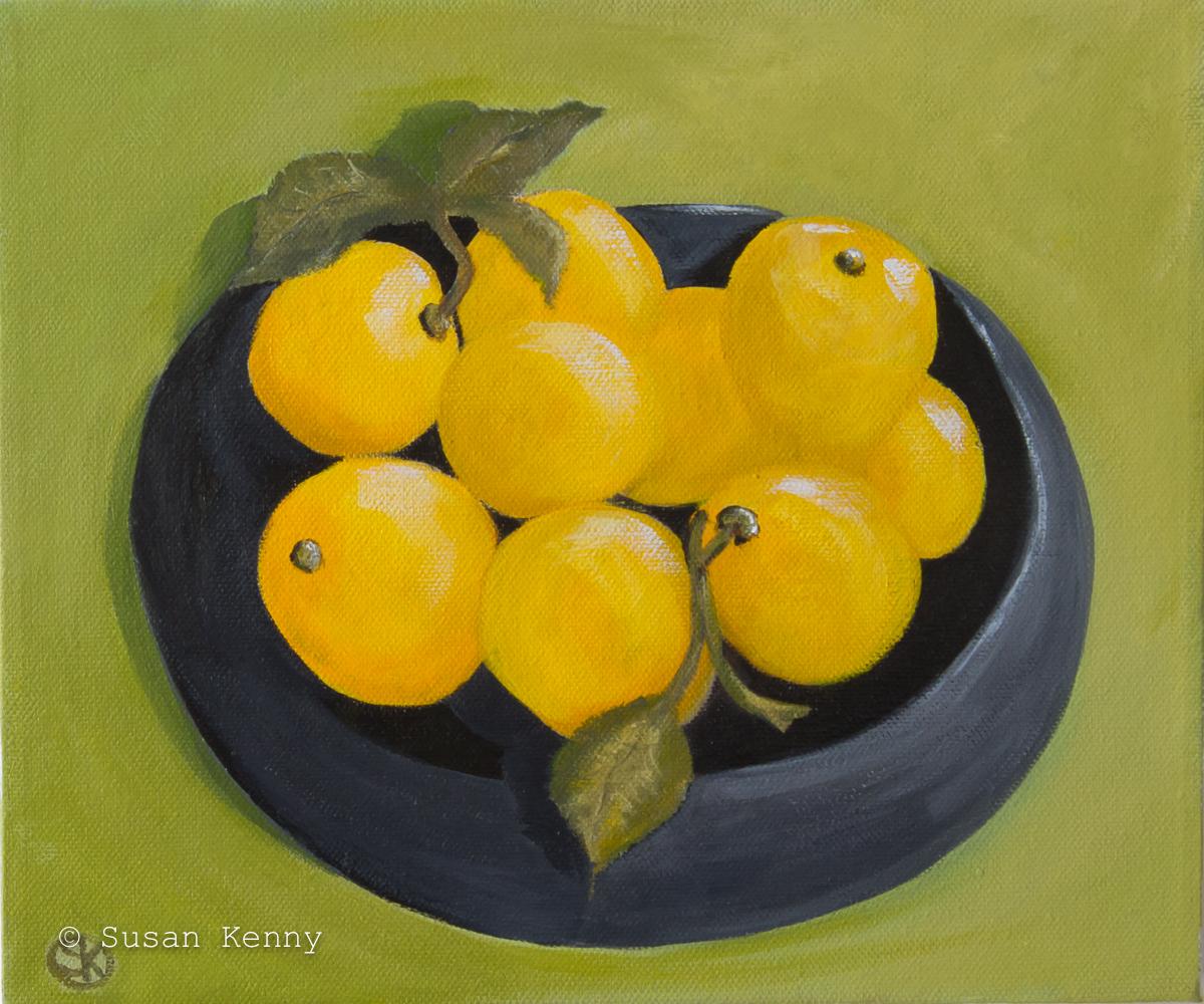 Lemons #2 by Susan Kenny