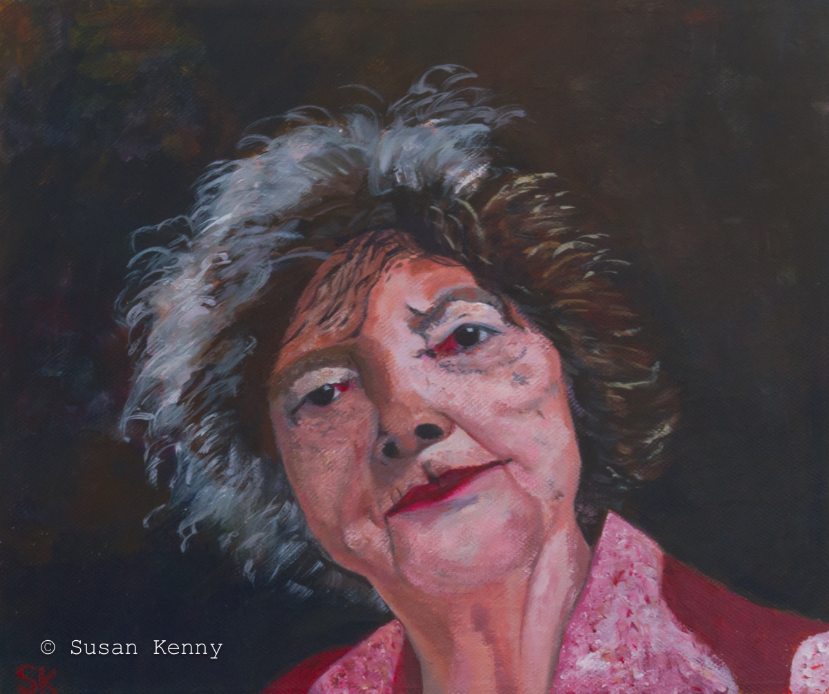 Margaret Olley by Susan Kenny